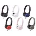 Auricular Sony Mdr-zx100 En Blister Calidad Superior