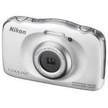 Nikon Coolpix S33 14mp Sumergible Full Hd 3x Zoom New Gtia!