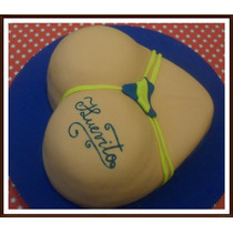 Tortas Eróticas Adultos 2kg Decorada Como En Foto!!!