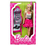 Barbie Muñeca 100%original Mattel Vestido Zapatos Cartera