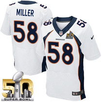Camiseta Nfl Von Miller Denver Broncos Xxl Firmada Superbowl