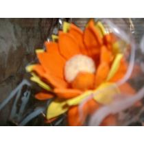 Flores De Goma Eva Laferrere - 10 Crisantemos O Margaritas