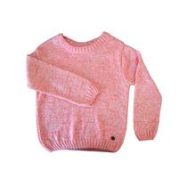 Sweater Tejido Con Lana Jaspeada Pecosos