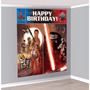 Decoracion Cumpleaños - Banner Fondo Escenario Star Wars