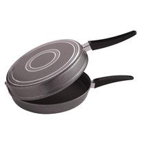 Omeletera / Sartén Doble De Teflón Antiadherente 24 Cm