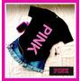 Pink Remeras Para Hacer Juego Con Tus Fundas Pink T-shirt