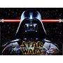 Kit Imprimible Star Wars Darth Vader Diseña Tarjetas 2x1