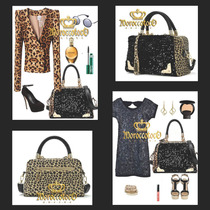 Cartera Animal Print Leopard Importada