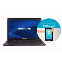 Notebook Banghó Max Intel Core I3 4gb 500 Gb 15.6¨ + Tablet