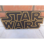 Escudo De Madera Con Relieve Star Wars Pelicula
