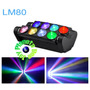 Led Spider Big Dipper Lm80 Efecto Doble Barra Movil Rgbw Dmx