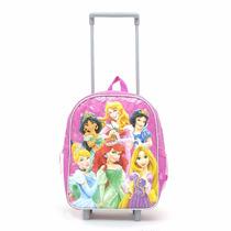 Mochila Escolar Con Carro Princesas 12 Pulgadas Todoxmia
