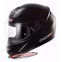 Casco Integral Ls2 352 Single Mono Negro Mate Moto Sur Mts