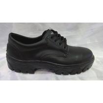 Zapato Trabajo Cuero C/ Puntera Teflón. Por Mayor Y Menor