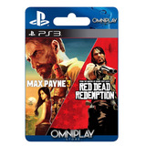 Max Payne 3 Complete Edition + Red Dead Redemption Ps3