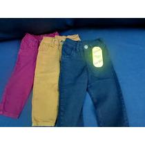 Jean Bebe Color Cintura Semi-elastizada Talles 1/36 M