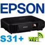 Proyector Epson S31+ 3200 Lumens Hdmi Usb Wifi Mod 2016