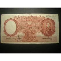 Billete Cien Pesos Moneda Nacional Serie E Miralo!!