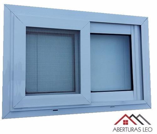 Ventana de aluminio para ba o 60x40 con mosquitero 1200 for Tipos de ventanas de aluminio para banos