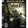 Fallout 3 Game Of The Year Ps3 Original Nuevo