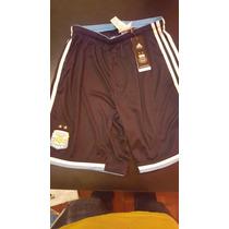 Short Selección Argentina Mundial Brasil 2014 Negro Adidas