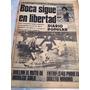 Diario Popular 21 Julio 1977 Boca Juniors - Hidalgo Sola