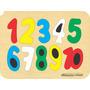 Rompecabezas De Números - Juguetes Didácticos En Madera