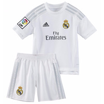 Camiseta + Short/kit De Niños Real Madrid 2016