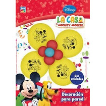 Mickey Globos Flor Dos Deco Cumple Mickey Mouse Minnie