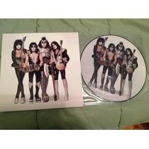 Kiss Monter Live In River Plate Lp Picture Disc Vinilo Disco