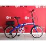 Bicicleta Plegable X-terra Fx20, 7 Velocidades Shimano