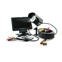 Kit De Cámara Color Con Audio + Monitor Lcd De 7