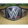 Cinturon De Campeon Wwe Para Niños Excelente Raw Ajustable