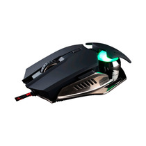 Mouse Gamer Noganet Thanatos Usb Dorado 4000 Dp Ultrapolling
