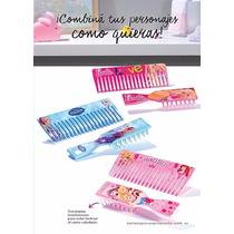 Set Peine Y Cepillo Para Niñas Avon Barbie Frozen Princesas