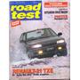 Revista Road Test Nº22 Renault 21 Txe Mitsubishi Space Wago