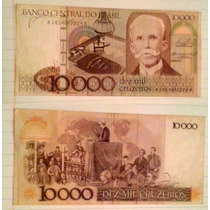 Billete Brasil, 10.000 Cruzeiros