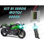 Kit De Bixenon Para Motos 8000k Alta Y Baja