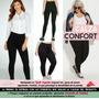 Calzas Supplex Confort Cintura Alta Modeladora / Embarazadas