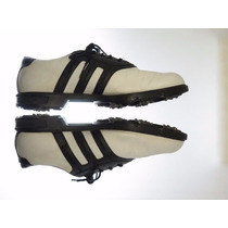 Excelentes Zapatillas Golf Adidas Cuero-12 Us-45.impecable