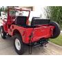 Jeep Willys , Chapa Cubre Toma Corriente De Trailer Batan