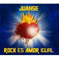 Juanse Rock Es Amor Igual Cd Disponible 20-08-13 Clickmusics
