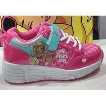 Zapatillas Con Ruedas Barbie Mundo Moda Kids