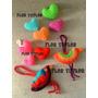 Pack X 4 Corazones Medianos Super Gorditos Tejidos A Crochet