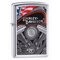 Encendedor Zippo Harley Engine Mod 28081,original