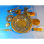 El Arcon Lote De 5 Articulos Metal Plato Pinza Colador 52079