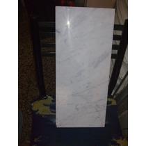 Recorte De Marmol Blanco Sin Uso 50cm X22cm