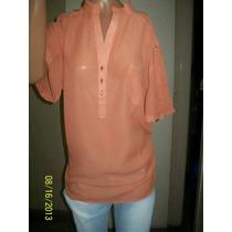 Camisas Gasa Mangas Cortas Liquidacion T 4 Al 7 $ 290