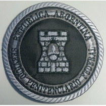 Escudo Gris Spf Servicio Penitenciario Federal Bordado