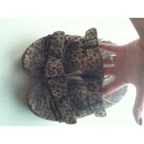 Birken Sandalias Plataforma Animal Print Leopardo De Verano